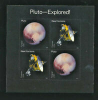 PLUTO EXPLORED Souvenir Sheet Mint NH United States Scott  # 5077 - 5078 Forever