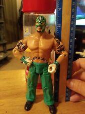 KRG Rey Mysterio WWE 2003 Jakks Pacific Wrestling Figure 619 Green