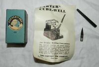 Vintage Carter's Ink 483 Box with instructions