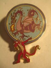 Disney 45th Anniversary Parade of Stars (Mushu with Maleficent Gong) LE PIN