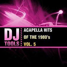 Dj Tools - Acapella Hits Of The 1980's Vol. 5 [New CD]