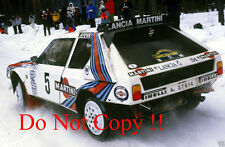 Henri Toivonen MARTINI LANCIA DELTA S4 Swedish Rally 1986 fotografia 1