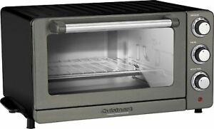 Cuisinart - Convection Toaster/Pizza Oven - Black/Stainless