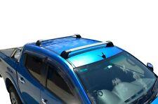 Aerodynamic Roof Rack Cross Bar for ISUZU D-Max 12-19 Alloy Flush End
