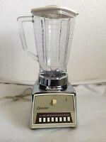 Vintage Chrome OSTERIZER IMPERIAL VIII Blender Model 542 John Oster USA Tested