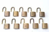 Authentic Louis Vuitton Padlock 10Set LV C1807