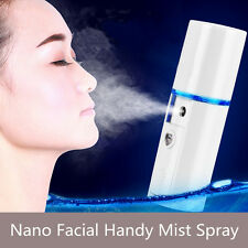 USB Nano Facial Mister Handy Mist Spray Atomization Eyelash Extensions Portable
