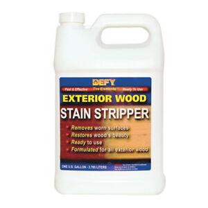 DEFY Exterior Wood Stain Stripper, 1 Gallon