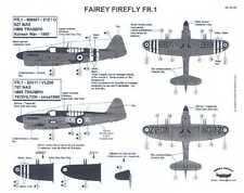 Berna Decals 1/48 FAIREY FIREFLY FR.1 British Fighter H.M.S. Triumph
