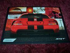 Catalogue portfolio / Brochure DODGE Viper SRT (incl: Viper ACR) 2008 //