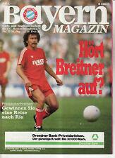 BL 82/83  FC Bayern München - 1. FC Nürnberg