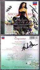Nicole CABELL, Andrew DAVIS Signiert SOPRANO Puccini Tippett Gounod Donizetti CD