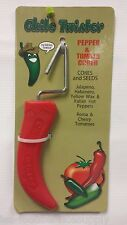 New listing Chile / Chili Twister Pepper & Tomato Corer - Core & Seed peppers chili's & more
