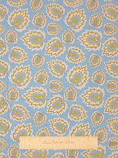 Light Blue Floral Fabric