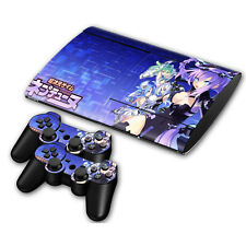 PS3 Slim 4000 Skin Sticker Decal Cover Vinyl Protector HYPERDIMENSION NEPTUNIA
