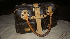 Retired Authentic Louis Vuitton Monogram Manhattan Bag Satchel GM Limited Ed