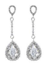 Pear Chandelier Costume Earrings