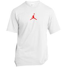 Air Jordan FLight Jumpman Logo - Gildan Ultra Cotton Black Men's T-Shirt S-5XL