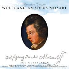 CD Wolfgang Amadeus Mozart Konzerte Concerto 5CDs