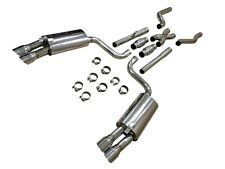 OBX Rcing Sports Catback Exhaust w/X-Pipe For 1986-1991 C4 Chevy Corvette 5.7L