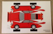 Porsche 911 Carrera Construction PostCard 1st On eBay Car Poster. Own It!