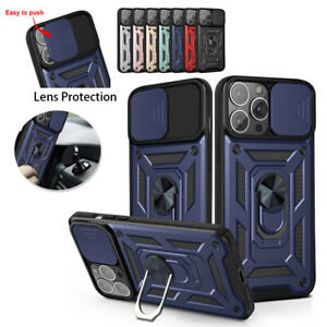 Shockproof Armor Lens Protection Case for iPhone 13 MiNi 12 11 Pro Max XS XR 7+