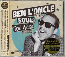 BEN L'ONCLE SOUL-SOUL WASH JAPANESE ORIGINAL EDITION-JAPAN CD E25