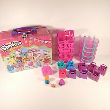 Shopkins Huge Lot Shopping Carts, Shopping Bags, and Lunch Box