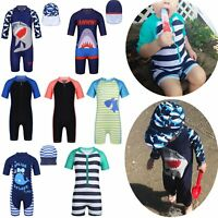 Boys Girl Swimsuit Tankini Boyshort Kid Sun Protective Rash Guard Beach Swimwear