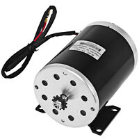 1000W 48V DC Electric Brush Motor #25 11T Sprocket 3000RPM for GoKart E-Scooter