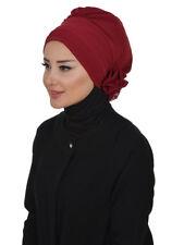 HT-31 Fertig Kopftuch Praktisch Hijab Chiffon Türban Esarp Sal Tesettür Khimar