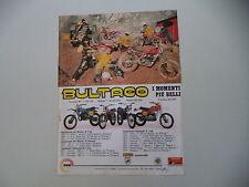 advertising Pubblicità 1978 BULTACO PURSANG MK/ALPINA 350 250/FRONTERA/SHERPA T