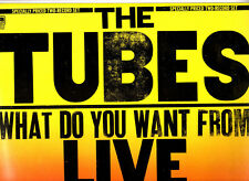 """THE TUBES.WHAT DO YOU WANT FROM LIVE.UK ORIG """"A2/B2/C2/D2"""" 2 LP's & INN/SL's.N/M"""