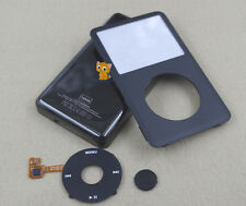 Black Faceplate Housing Case Cover Clickwheel for iPod 6th Classic Thick 160GB