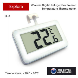 LCD Digital Thermometer for Fridge Freezer with a Hanging Hook - CE Marking