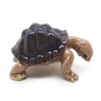 ceramic turtle statue dollhouse figurines porcelain animal vintage miniature LL2