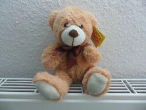 Sunkid Stofftier / Kuscheltier Bär mit Schleife 23cm NEU!!