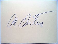 AL OERTER – 1956, 60, 64 & 68 OLYMPIC GAMES DISCUS GOLD MEDALS ORIGINAL INK AUTO