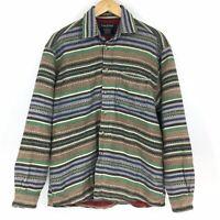 Vintage Thunder Sz Mens Large Southwestern Blanket Design Barn Jacket Coat Chore
