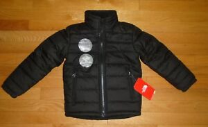 The North Face Boys Chimborazo Reversible Jacket Black 2XS XXS 5 5T NWT