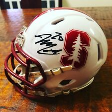Bryce Love Signed Stanford Cardinal Mini Helmet Proof Coa