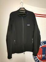 Patagonia Full Zip Fleece Jacket Mens Large Vintage USA Made Black