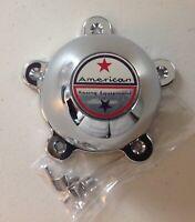 "American Racing Torq Thrust Wheel Rim Chrome 5 Ear Center Cap 898008 2 1/8"""