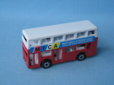 Matchbox MB-17 Titan Bus MICA Club Rare Red and White Body Pre Pro