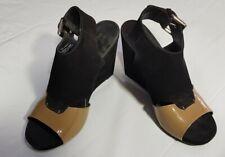 DKNY Wedge Heel Shoe, Size 7 1/2, 9cm Heels