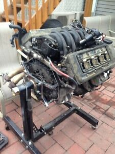 BMW e34 m60b30 engine with 5 speed manual gearbox