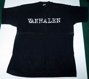 VAN HALEN - Is Kicking Ass Clarkston 1991 Original Rock Concert Tour T-Shirt XL
