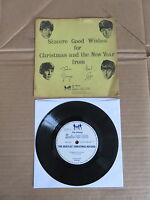 "THE BEATLES  Beatles Chistmas Record 7"" FLEXI DISC VERY RARE 1963 FAN CLUB ONLY"