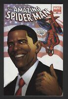 THE AMAZING SPIDER-MAN #583-BARACK OBAMA MARVEL 4th Print Variant 9.6 NM