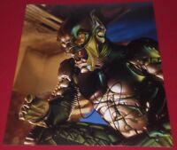 WILLEM DAFOE SIGNED SPIDER-MAN GREEN GOBLIN COOL PROMO 8X10 PHOTO AUTOGRAPH COA